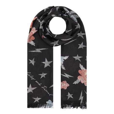 Stardust Silk Scarf, ${color}