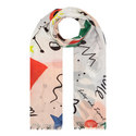Daydream Printed Scarf, ${color}