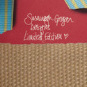 Ribbon Print Silk Scarf, ${color}
