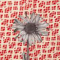 Daisy Print Scarf, ${color}