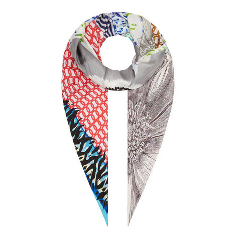 Patch Multi-Print Scarf, ${color}