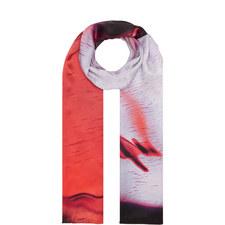 Print Silk Scarf