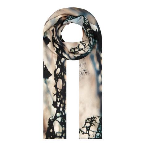 Granite Agate Silk Scarf, ${color}