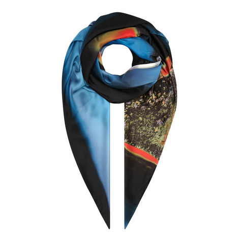 Dylan Agate Silk Scarf, ${color}