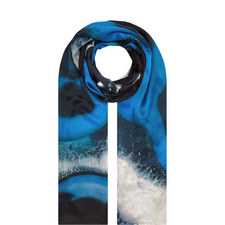 Printed Silk Scarf Medium