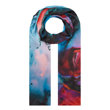 Festive Mineral Print Scarf, ${color}