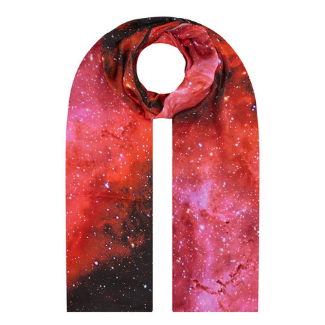 The Rose Nebula Silk Scarf, ${color}