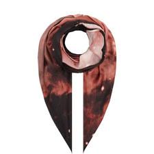 Nebula Print Silk Scarf