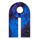 Nocturnal Nebula Silk Scarf, ${color}