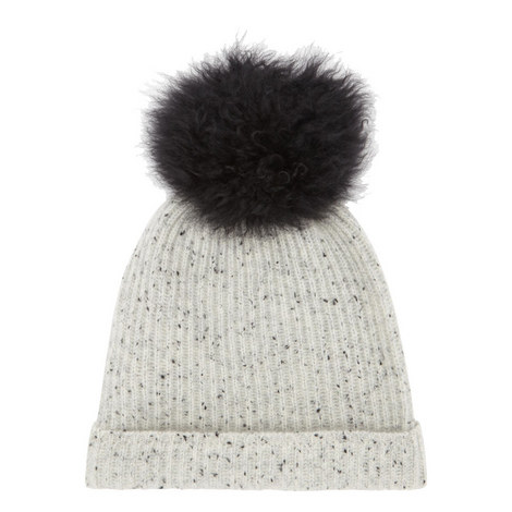 Pom Pom Beanie Hat, ${color}