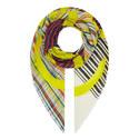 Sheer Stripe Scarf, ${color}