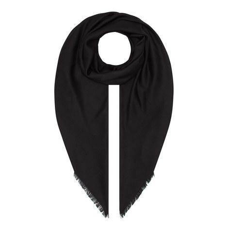Anagram Logo Wool-Silk Scarf, ${color}