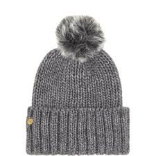 Faux Fur Pom Pom Hat