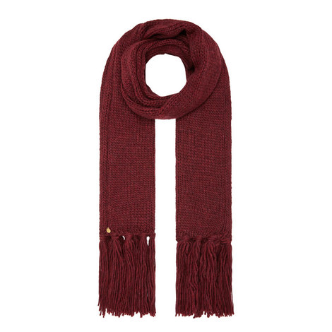Ribbed Fringe Scarf, ${color}
