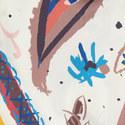 Fauve Silk Scarf, ${color}
