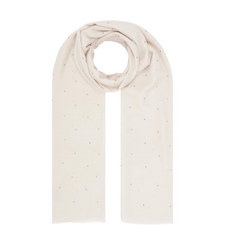Crystal Wool Silk Scarf