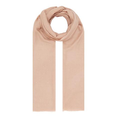 Crystal Wool Silk Scarf, ${color}