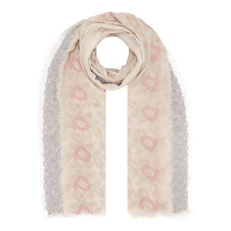 Rosita Embroidered Scarf, ${color}