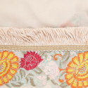Rugiadac Embroidered Silk Trim Scarf, ${color}