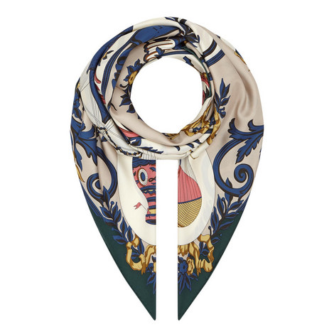 Balloon Print Scarf Large, ${color}