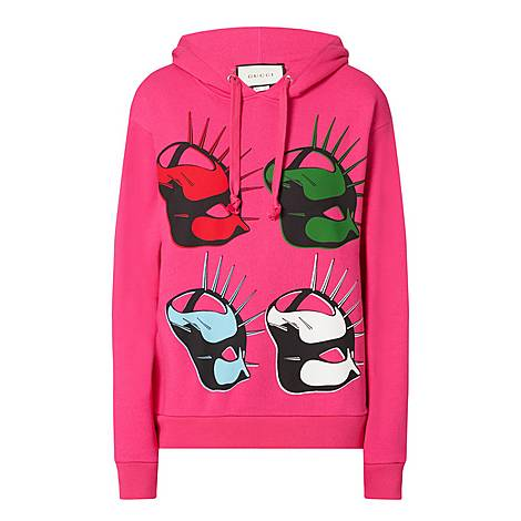 Four Mask Hoodie, ${color}