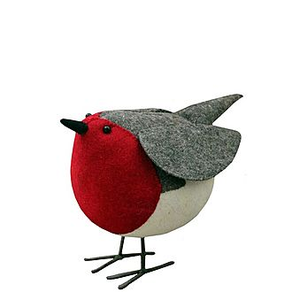 Decorative Standing Robin
