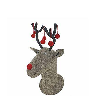 Decorative Reindeer Head