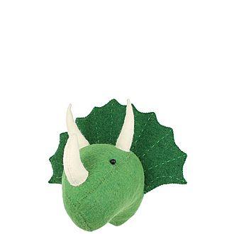 Decorative Triceratops Head