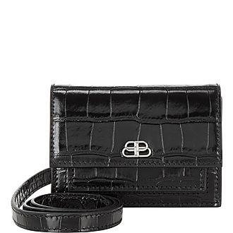 Croc Effect Mini Belt Bag