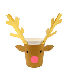 Reindeer Party Cups