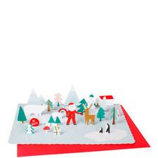 Pop-Up Santa Advent Calendar