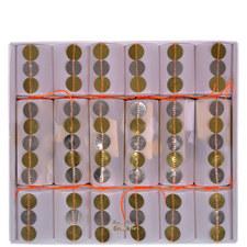 Metallic Sequin Crackers Large
