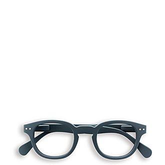 #C Grey Reading Glasses