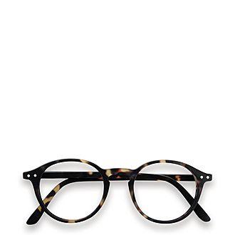 #D Tortoise Reading Glasses