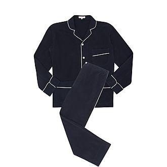 Laurent Washed Silk Pyjamas