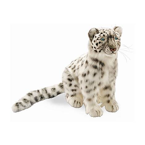 Small Stuffed Snow Leopard, ${color}