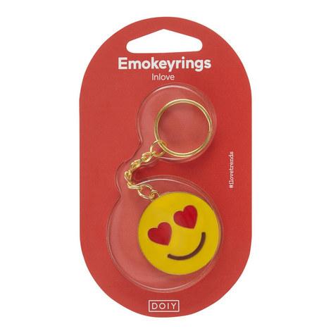 Love Emoji Keyring, ${color}