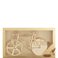 Gold Bicycle Pizza Cutter
