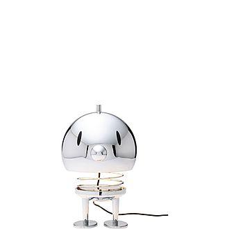 Extra Large Chrome Lamp