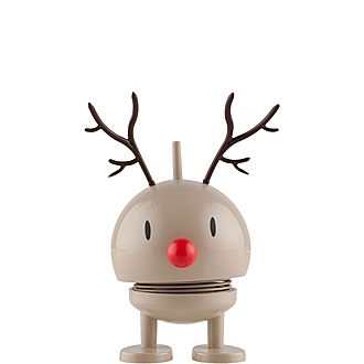 Small Reindeer Bumble Ornament