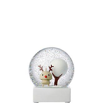 Large Rudolph Snow Globe