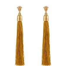 Medusa Tassel Earrings