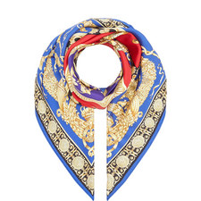 Neo-Classical Print Scarf