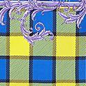 Multi-Print Silk Scarf, ${color}