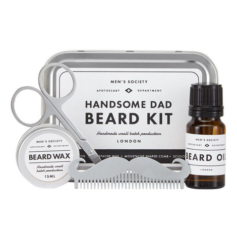 Handsome Dad Beard Kit , ${color}