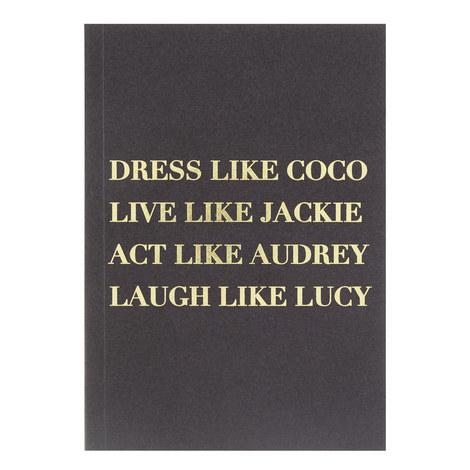 Dress Like Coco Journal, ${color}
