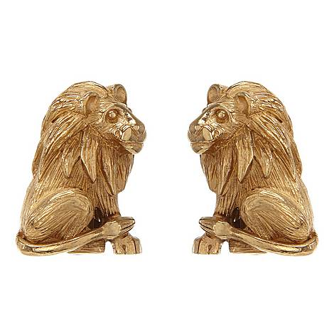 Lion Earrings, ${color}