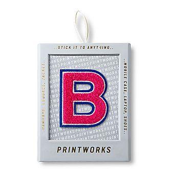 Fluffy Alphabet Sticker: B