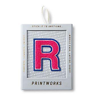 Fluffy Alphabet Sticker: R