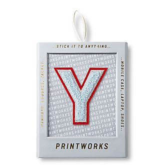 Fluffy Alphabet Sticker: Y